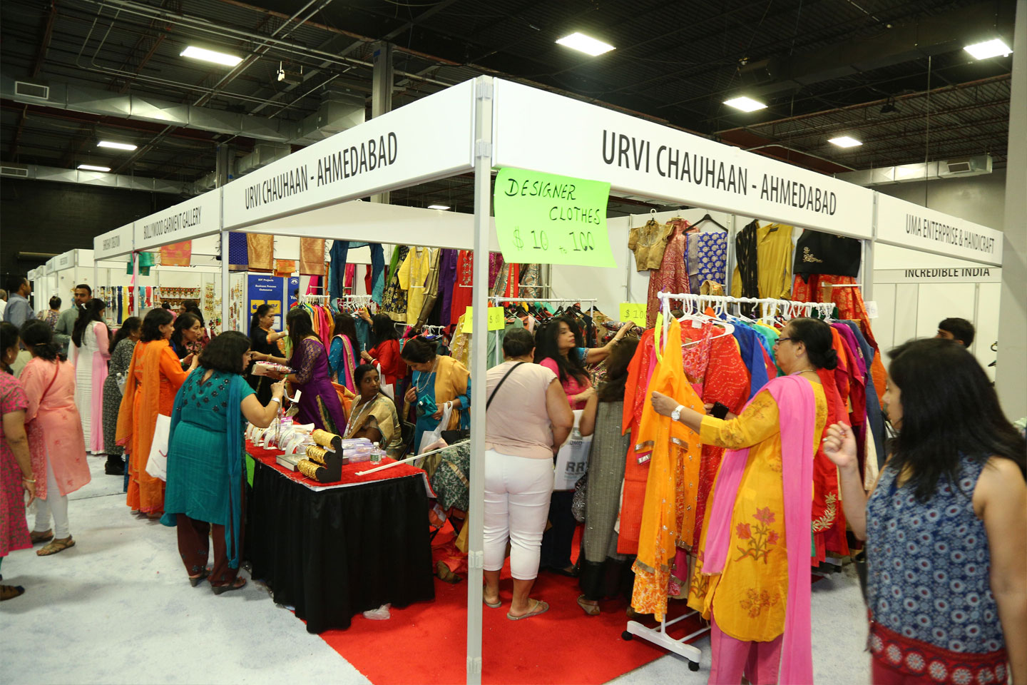 Exhibition Stalls – Tourism & Handicraft of India